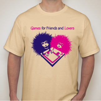 Games for Friends and Lovers t-shirt